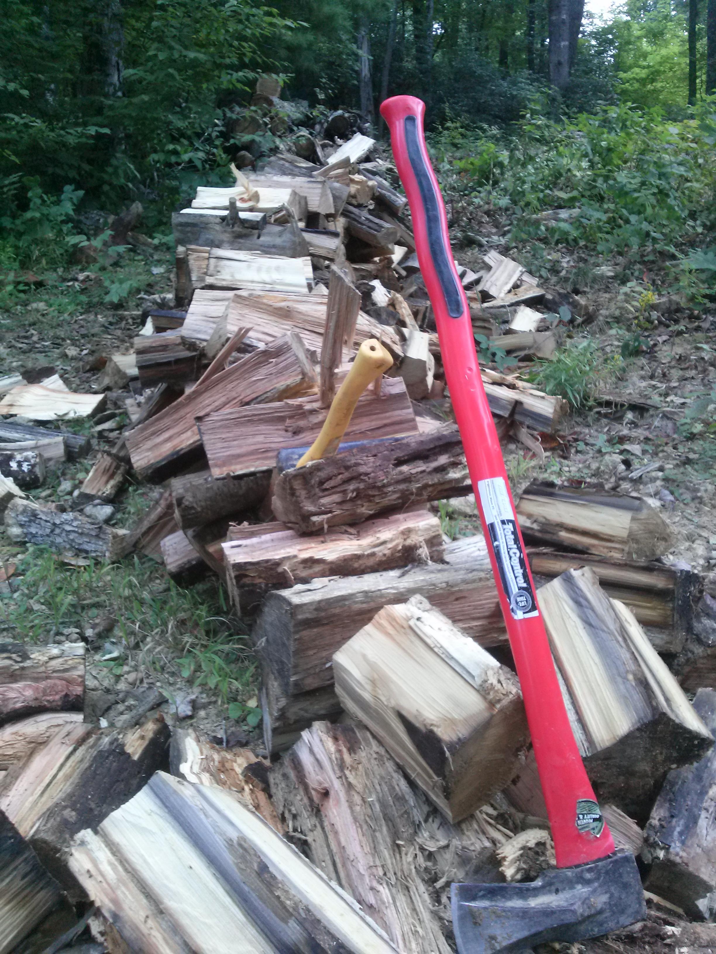 chopping-wood